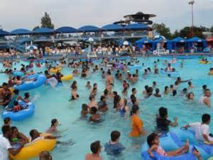 "Hurricane Harbor.  Only imagine 4x the participants over the 4th of July weekend.  I ""know"" more people than I ever imagined."