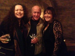 Lynn, Mike Stoller, and songwriter Danielle Brisebois  (who may very well walk home with an Oscar for her work on this year's  Begin Again.)